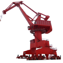 Rail Mounted Floating Dock Sea shipyard portal crane