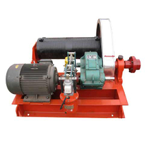 1-200 ton wire rope electric pulling manual winch