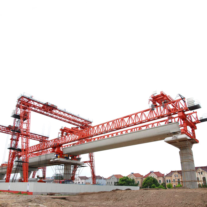 Launcher girder erection crane machine