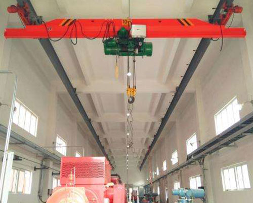 Use and maintenance of explosion-proof cranes
