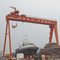 Ship yard gantry crane