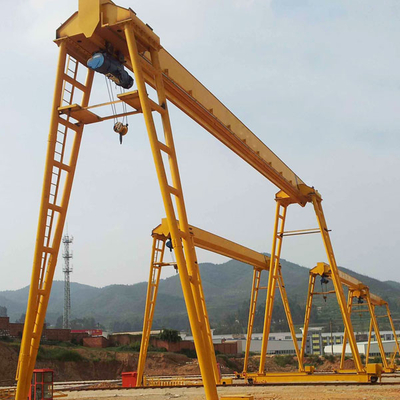 Truss type single girder gantry crane