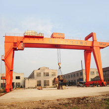 Industrial double girder overhead gantry crane
