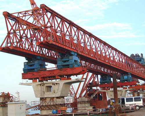 Teach you how to operate the dismantling and maintenance of bridge erecting machine