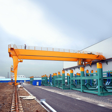 Electric Hoist Semi Single Girder Gantry Crane