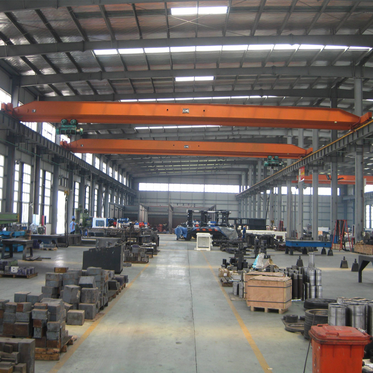 Jiangsu delivered successfully of bridge crane