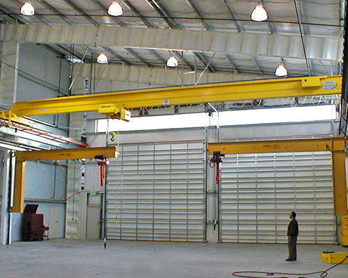 European single beam crane can reduce labor force